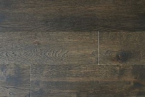 Oak Coffee Brushed Flooring L1200 x W123 x T18mm | B & Q